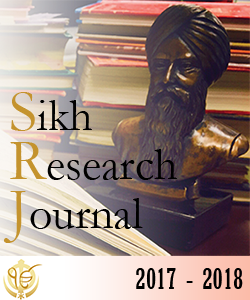Sikh Research Journal 2017-2018