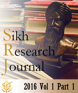 Sikh Research Journal Vol 1 Part 1